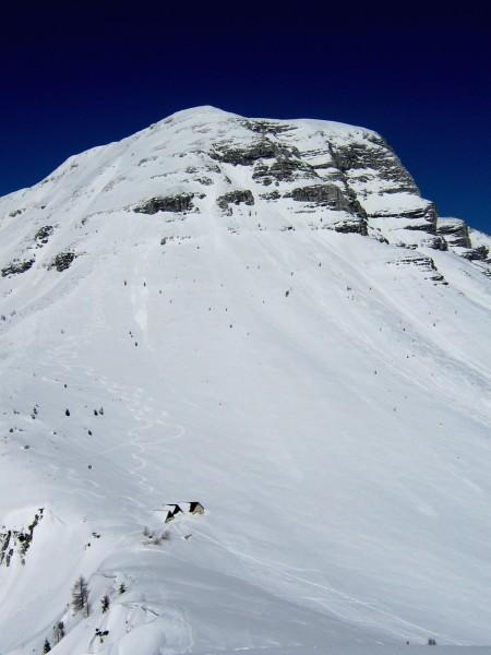 Planina Kal in Migovec pozimi